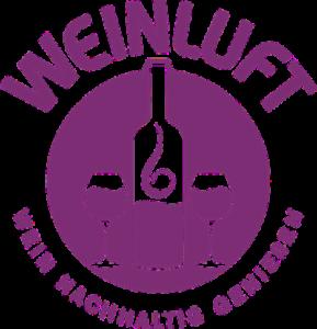Weinluft Logo, Wein nachhaltig genießen